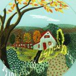 منظره دوزی- طرحی از پاییز۵
