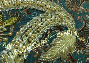 سرمه و مروارید دوزی - مریم رفیعی