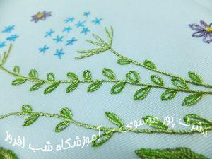 دوخت برگ جوانه ای - سیده اشرف پور موسوی