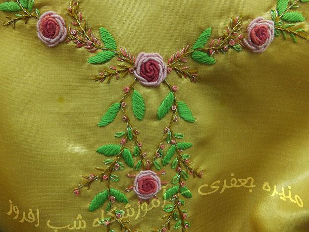 گل رز ایرانی- منیره جعفری