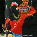 دوختن لباس در طرح های سوزندوزی