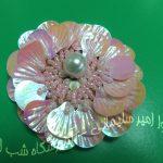 پولک صدفی – گل یقه