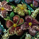 گلهای سه بعدی با سرمه