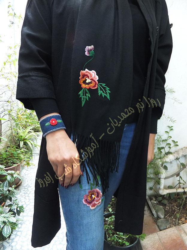 بنفشه های من- روزا نور محمدیان