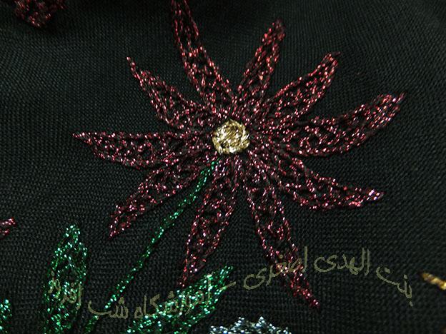 نخ های فانتزی و سوزندوزی- بنت الهدی اصغری