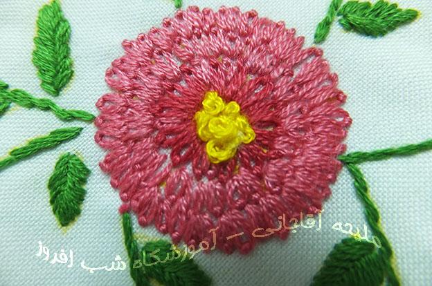 گل های داودی ردیفی- ملیحه آقاجانی