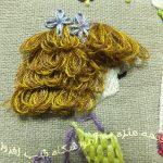 دوخت مو در سوزندوزی- 4