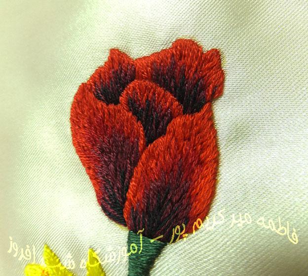 سوزندوزی لاله- فاطمه میر کریم پور