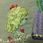دوخت مو در سوزندوزی- 6