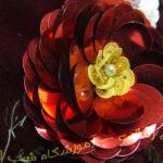 گل های شکوفه ای و مغز گل