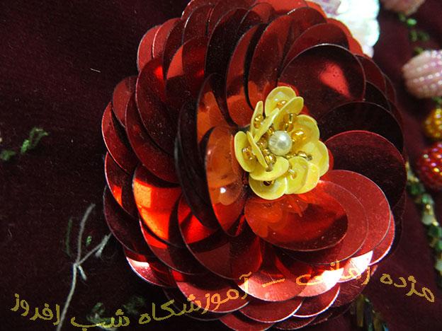 گلهای شکوفه ای و مغز گل- مژده زمانی