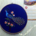 سوزندوزی طرحی از طاوس